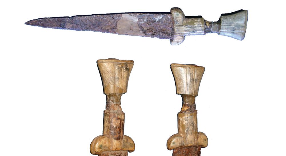 Egyélű vastőr az Alsóvárból, 13. század második fele