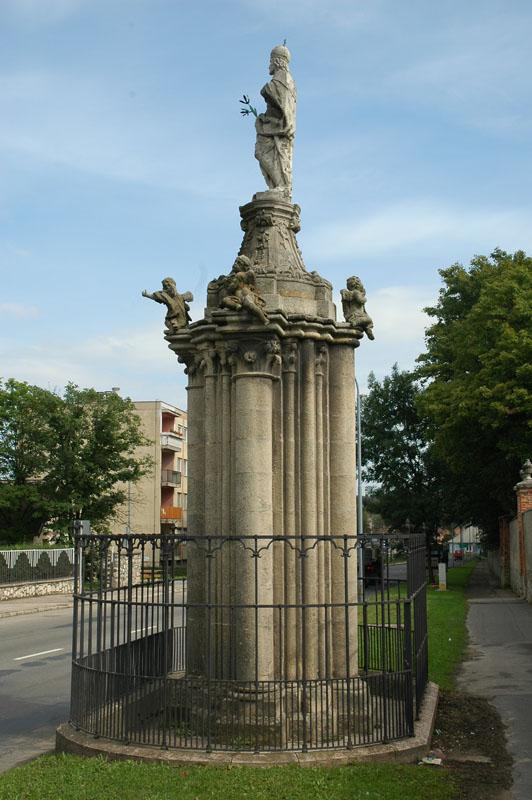 A megmaradt pillérköteg
