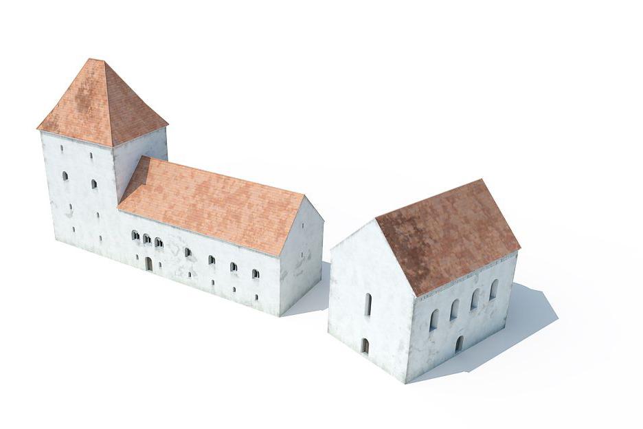 A zirci udvarház rekonstrukciója (Pazirik Kft, Szőke Balázs)