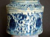 Az ornamentális díszű albarelló (fotó: Buzás Gergely)