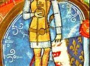 I. I. Károly ábrázolása a Képes Krónikában