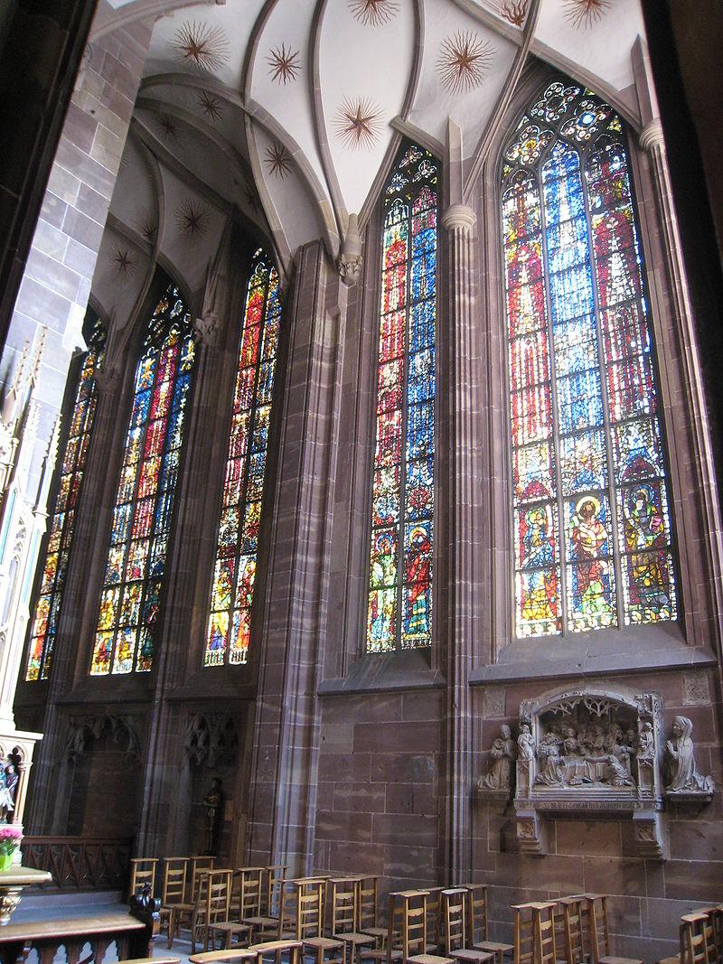 A strassbourgi katedrális Szent Katalin kápolnája