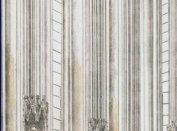 A székesfehérvári Szent Katalin kápolna és síremlékeinek rekonstrukciós rajza (Lukács Zsófia rajza)