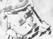 Az egri székesegyház Hazael Hugó 1753-as rajzán