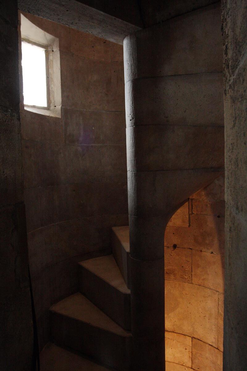 Mátyás-torony, csigalépcső