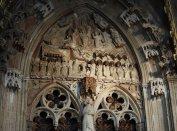 A Mária-kapu timpanonja