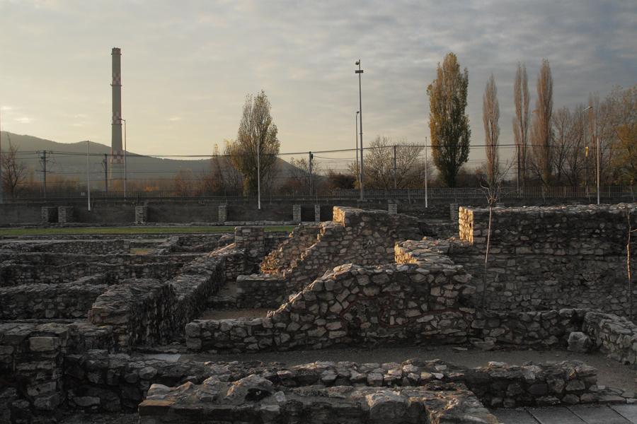 Aquincum, romterület