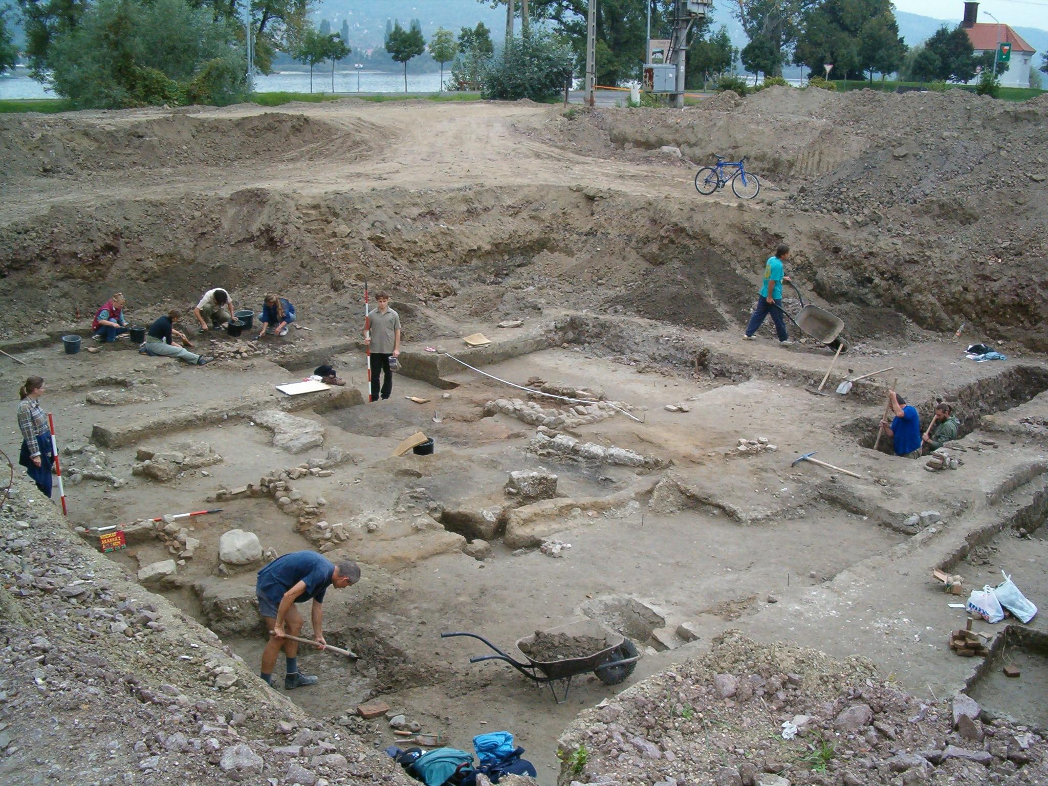 1. A lelőhely feltárása 2005-ben